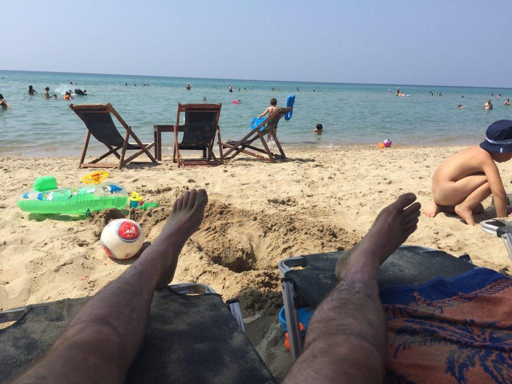 prvi red na plaži