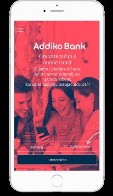 Addiko Banka Go digitalni račun